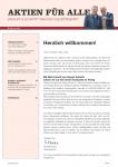 Sonderbroschüre: Aktien für Alle - Reich mit Aktien 2019